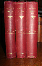1896 British Birds With Their Nests & EGGS Six Volumes in 3 FROHAWK 1st Edition