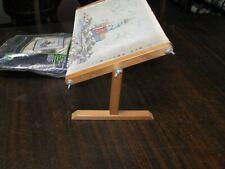 EUC Needlepoint Lap or Table Frame & Lighthouse Kit