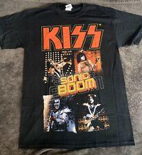 KISS Sonic Boom T-Shirt Graphic Band Tee SMALL Black