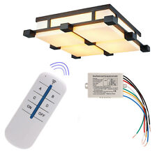 4 Channel Wireless ON/OFF Lamp Remote Control Switch Receiver Transmitter New