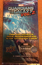 GUARDIANS OF THE GALAXY VOL 2, PROMO MARVEL CINEMATIC UNIVERSE CARDS, UPPER DECK
