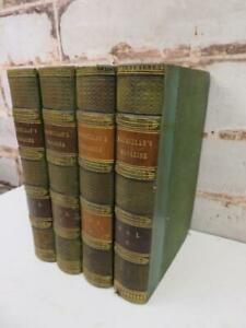 really old ANTIQUE BOOKS LOT Macmillan s history 1862