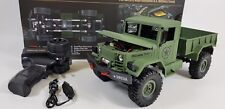 OFF Road Heng Long Radio Telecomando RC Truck Tank 4x4 Militare dell'Esercito Jeep