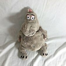 Dreamworks Plush Hippo Gloria Madagascar Gray Plush Stuffed Toy 13""