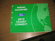 2012 FORD TRANSIT CONNECT WIRING DIAGRAMS REPAIR SERVICE MANUAL