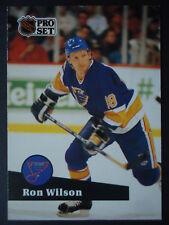 NHL 220 Ron Wilson St. Louis Blues Pro Set 1991/92