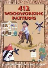 412 Woodworking Patterns by Fc and A Publishing Staff