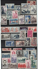 lot 1006 France timbres oblitérés 1938 1960