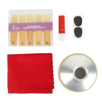 Tenor Saxophone Mute Pad Reed Cleaning Cloth Tool Kits Sax Saxophone Accessories
