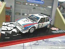 LANCIA DELTA S4 Rallye Gr.B Monte Car 1986 Sieger #7 Toivonen Martini IXO A 1:43