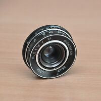 INDUSTAR 69 2,8/28 OBJEKTIV M39 RAR Black sowjetische Lens Linse Industar