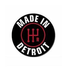 Made In Detroit Sticker Vinyl Decal 3-72