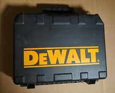 CASE ONLY Dewalt DW920K-2 Empty Hard Case for Cordless Screwdriver w/ Manual