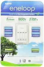 SANYO ENELOOP rechargeable batteries  NiMH 8AA +4AAA + charger