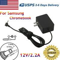 AC Adapter Charger for Samsung Chromebook 3 500C 500C13 XE500C13 501C 501C13 12V