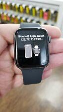Apple 44mm Aluminum Series-4 GPS + Cellular Watch - Space Gray Unlocked