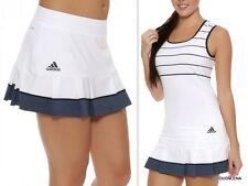 NWT ADIDAS Size L PREMIUM Tennis Pleated Hem Skort w/build-in shorts