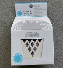 Martha Stewart Crafts Circle Edge Punch Cartridge Diamond Lace 42-93011 NEW