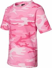 Code V Tee Shirt T Youth Camouflage Blank 2206 Size/color Choice M Pink