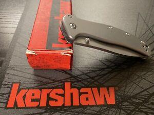 Kershaw Zing 1730SSST RJ Martin & Kershaw Shuffle 8750TBLKBW, BNIB, Great EDC