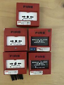 Vintage KAC Call Point Break Glass Fire Alarm