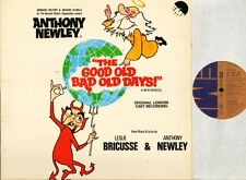 THE GOOD OLD BAD OLD DAYS soundtrack anthony newley EMA 751 uk emi LP PS EX/EX