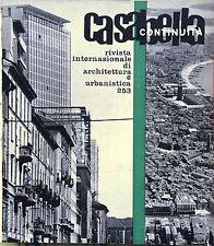 CASABELLA CONTINUITA' N° 253 LUGLIO 1961