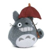 My Neighbor Totoro Soft Toy 15cm with Umbrella Red Studio Ghibli Official