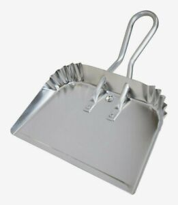 """Quickie Handheld DUST PAN 17"""" W Aluminum Silver Extra Strength Heavy-Duty 428ZQK"""