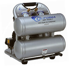 California Air Tools 4620AC Ultra Quiet, Oil-Free & Powerful Air Compressor-USED