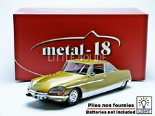 METAL 18 1/18 CITROEN DS 21 Chapron Le Leman - 1968 180107GD - 18004B