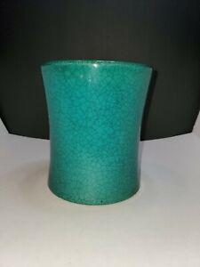 Forest Green Ceramic Vase