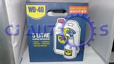 WD40 5L WITH SPRAY APPLICATOR INCLUDED OIL LUBRICANT SPRAY MULTI USE