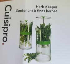 Cuisipro Original Herb Keeper Keeps Herbs Fresh Storage Container