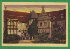 Münster Schloss Burgsteinfurt Schloßhof unbeschrieben Topp Erhaltung ~1925