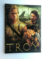 "Japan movie souvenir program ""Troy"" Brad Pitt, Diane Kruger, Orlando Bloom【M05】"
