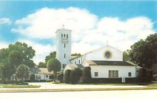 Orlando Florida Central Christian Church 250 West Ivanhoe Postcard c1960s