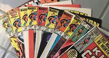 Marvel Comics Conan The King Lot (10) 3 14 20 22 24 25 26 30 34 44 Simons