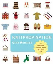 Book: KNITPROVISATION, 70 Imaginative Projects Mixing Old with New, customizing