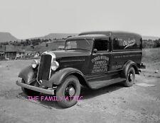 OLD GERMAN BEER 1930s PANEL TRUCK 8.5X11 PHOTO FURRER BEVERAGE CO ALTOONA PA FV