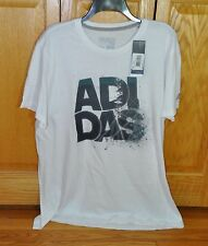 Adidas Climalite Mens TShirt White XLarge Go To Performance 60% Poly 40% Cot NWT