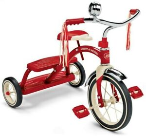 NEW Radio Flyer Classic Red 12'' Tricycle Dual Deck from Mr Toys