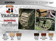 LIFECOLOR Tracks Painting Weathering Pigment & Color Acrylic Set 6 22ml Bottle