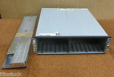FUJITSU E300DE1U STORAGE ARRAY UNITÀ 15 Bay CA06794-B132 con RAILS NO HDD's