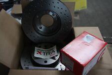 Brembo XTRA Bremscheiben und -beläge Audi A3, Seat, VW Satz für hinten 272x10mm