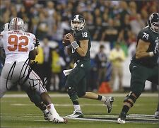Michigan State Spartans CONNOR COOK Signed 8x10 Photo PROOF