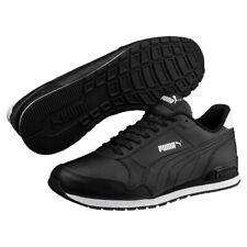 Puma St Runner v2 Full L Unisex Trainers 365277 Black/White