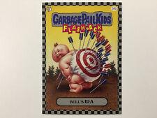 2010 USA Garbage Pail Kids FLASHBACK 1 SILVER CARD : 50b Bull's Ira - FB1
