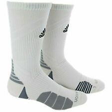 Adidas Men's Womens Traxion Menace Crew Soccer Football Basketball Socks  Medium