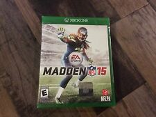 Madden NFL 15 (Microsoft Xbox One, 2014) New sealed Free US Shipping